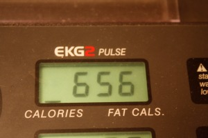 five miles calories burned