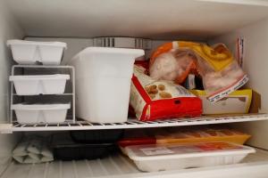 Restocked Freezer