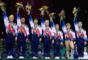 1996 Atlanta US Olympic Gymnastics Team