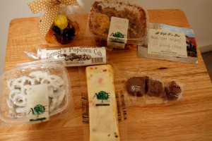 July Foodie Penpal Treats