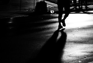 silhouette Meg BW
