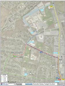 Rockville Twilight 8k course map