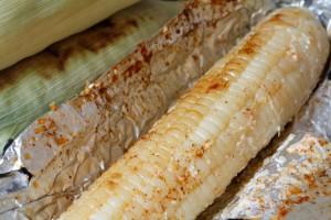 Grilled Mayo Parmesan Corn