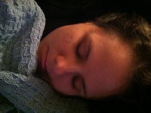 Megan Sleeping