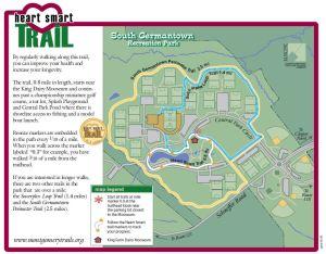 South Germantown Rec Park Heart Smart Trail