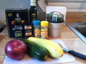 squash ingredients
