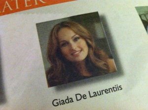 Giada De Laurentiis appearance at Metro Food DC