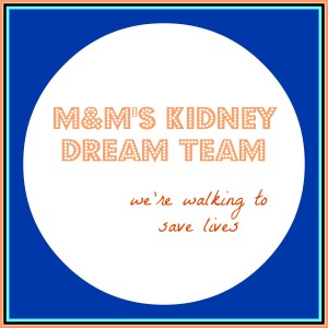 M&M's Kidney Dream Team logo