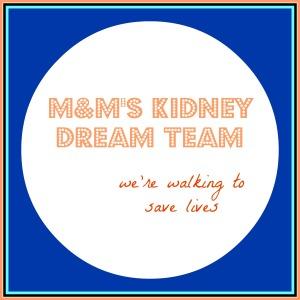 M&M's Kidney Dream Team logo