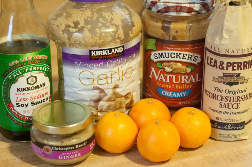 peanut pasta sauce ingredients