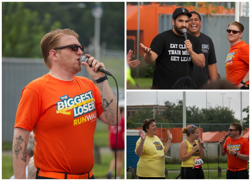 Biggest Loser 5k DC contestants