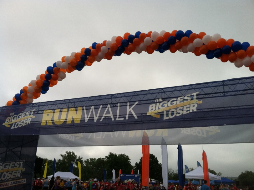 Biggest Loser 5k DC Banner
