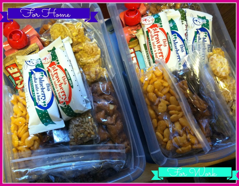 Home and Office Snack Packs