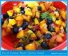Peach Cilantro Salad