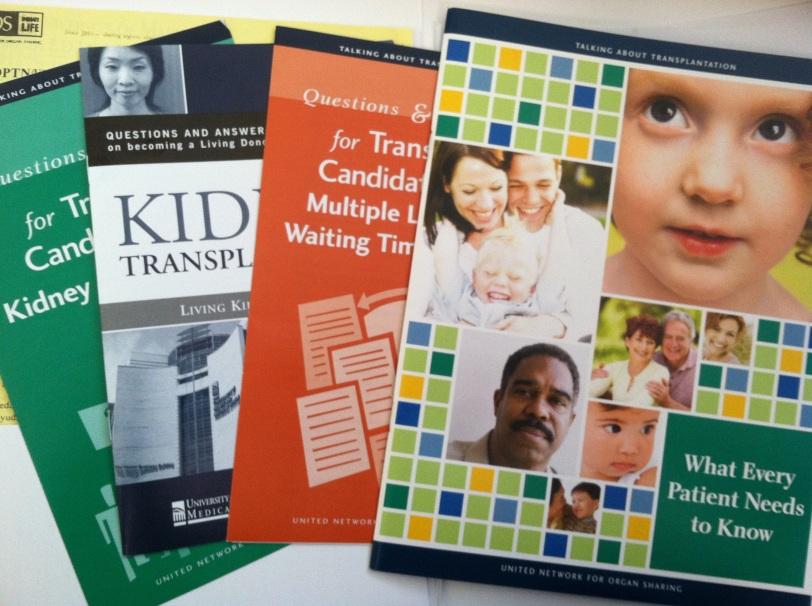 kidney transplant literature