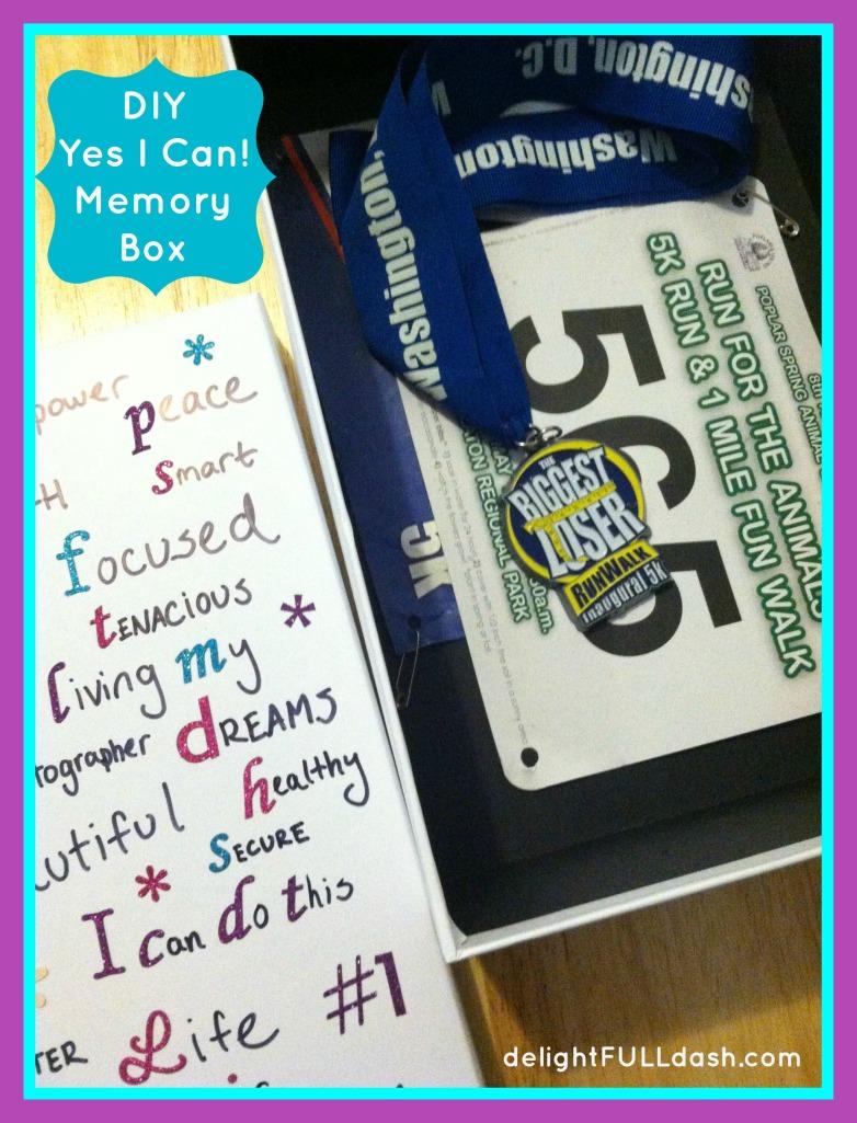 DIY Yes I Can! Memory Box