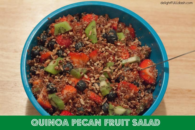Quinoa Pecan Fruit Salad